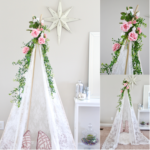 Dreamy Lace Teepee DIY