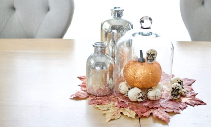 glam halloween centerpiece