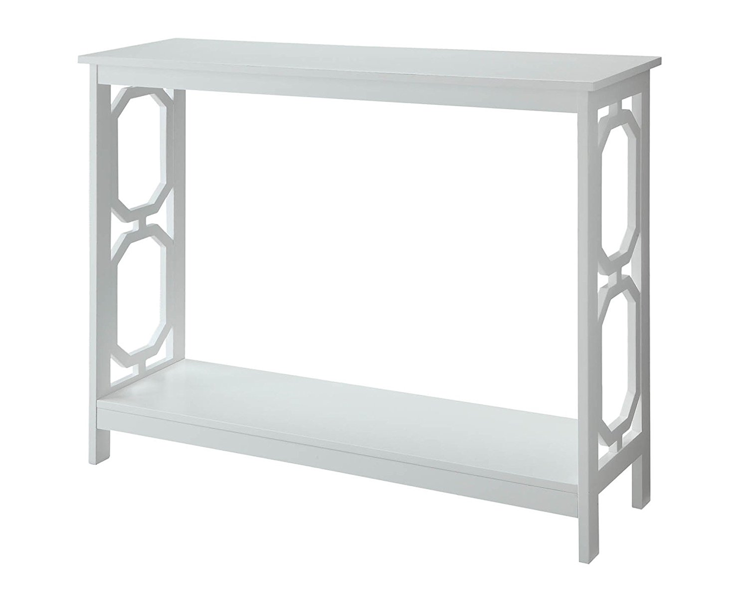 omega console table white