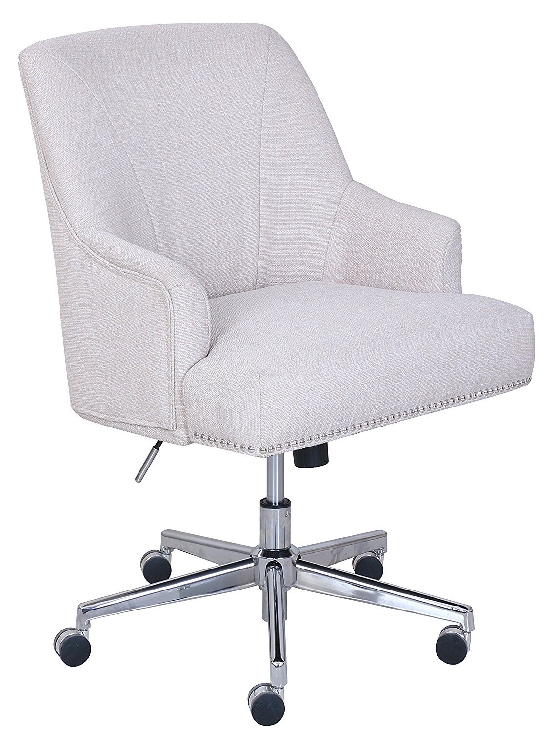 tufted nail desk chair