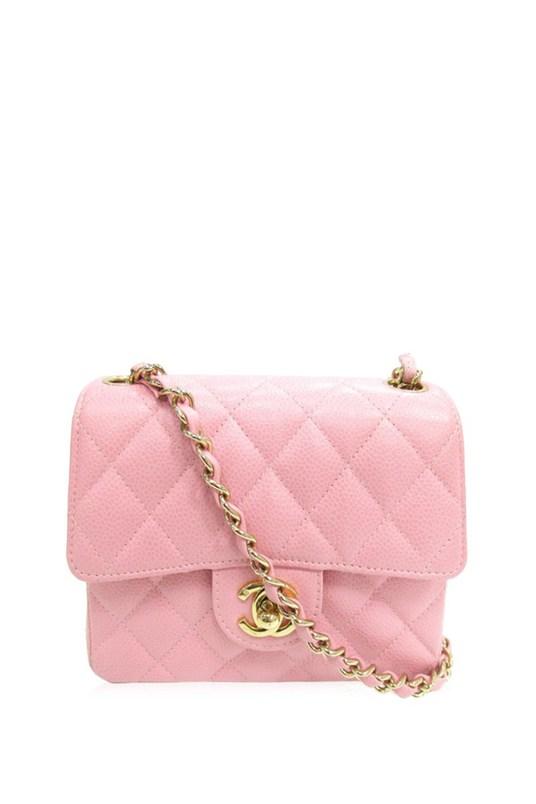 pink mini chanel