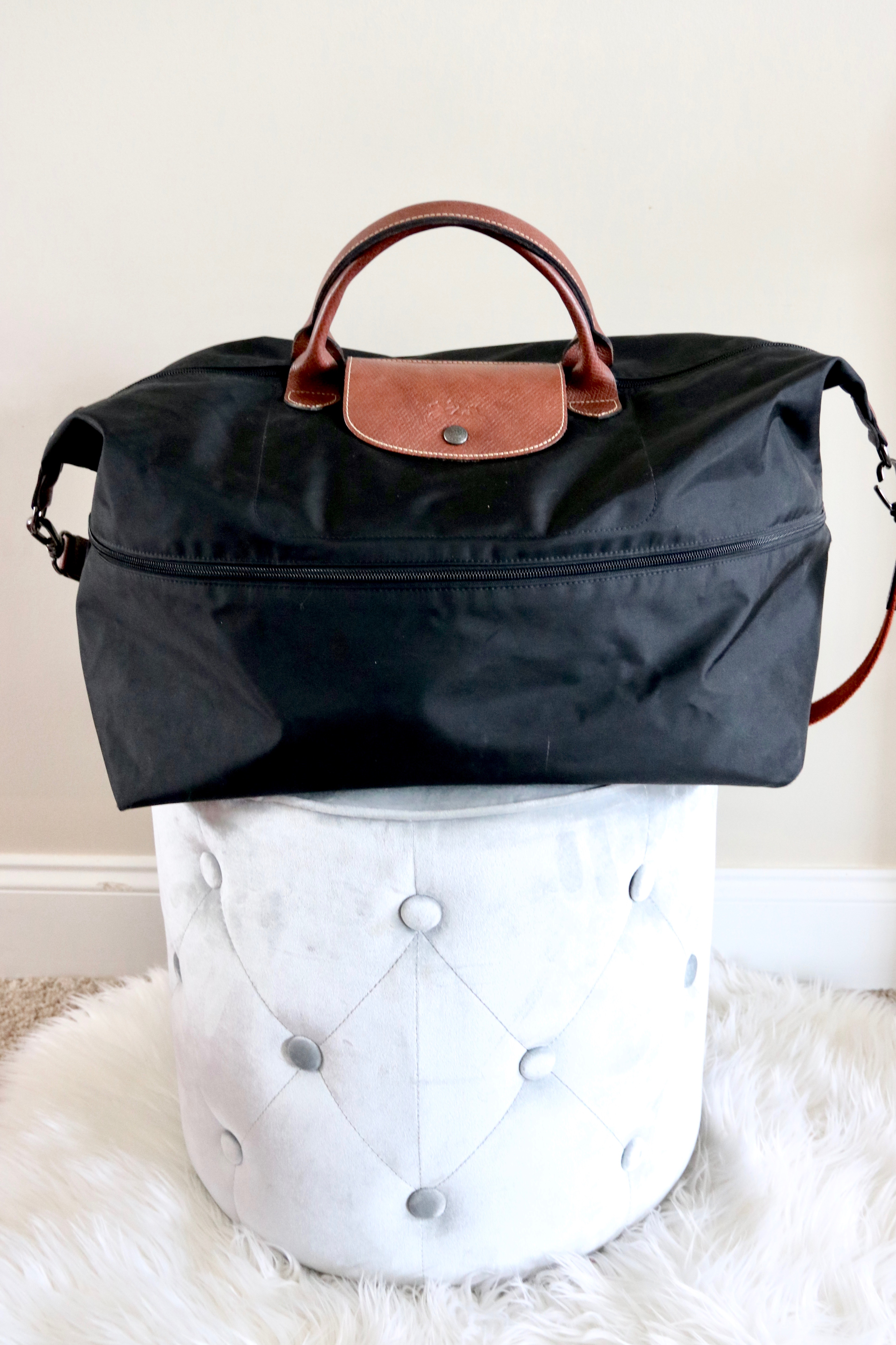 longchamp travel bag