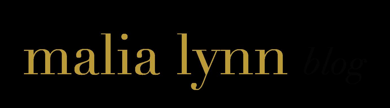malia Lynn blog logo